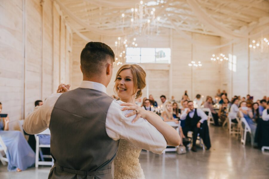 Wedding first dance: White Dove Barn Wedding by Grace Upon Grace Photography featured on Nashville Bride Guide