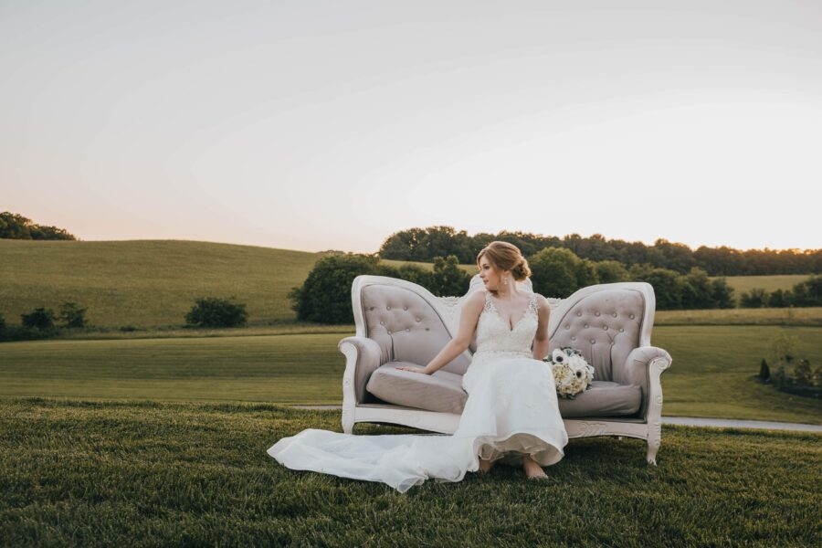 Wedding photography: White Dove Barn Wedding by Grace Upon Grace Photography featured on Nashville Bride Guide