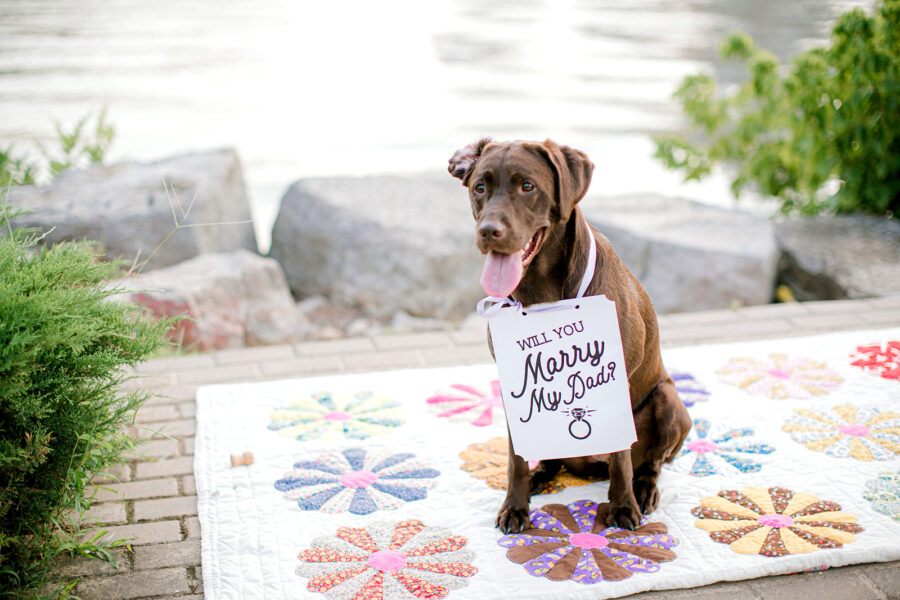 Surprise Downtown Nashville Proposal captured by Ashton Brooke Photography featured on Nashville Bride Guide