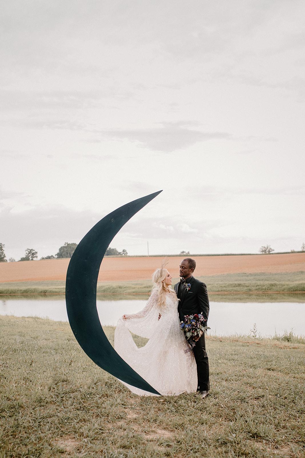 Moon celestial wedding decor