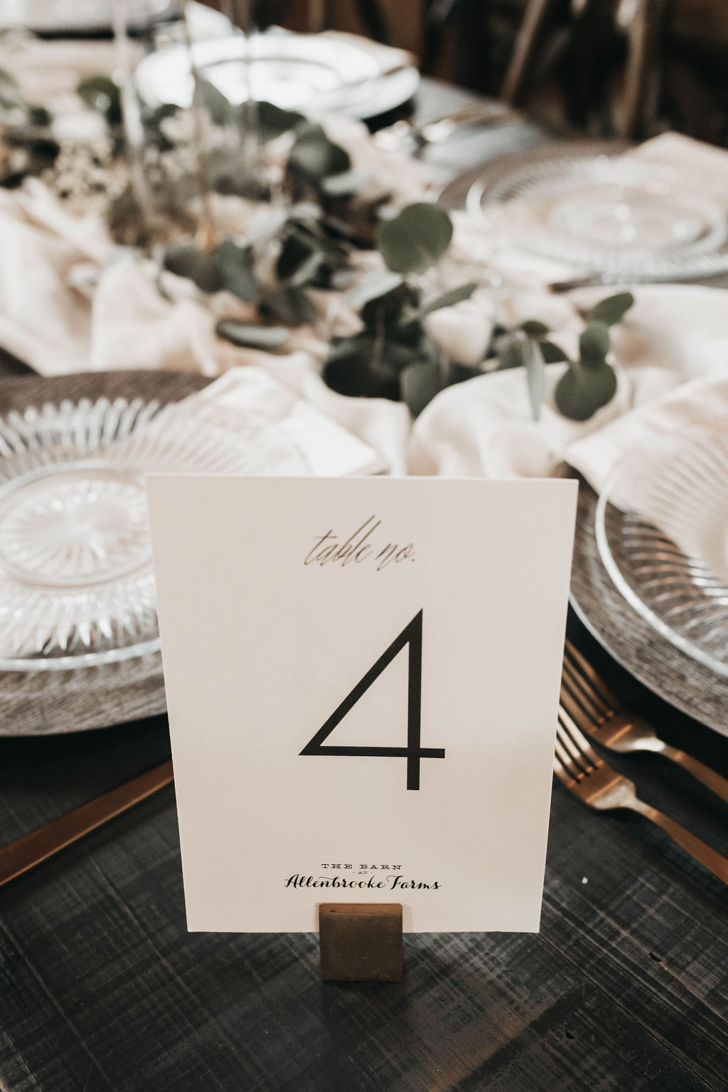 black and white wedding table numbers