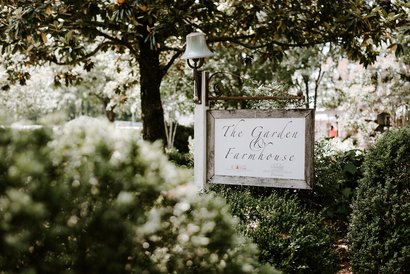 Long Hollows Garden Greenhouse wedding