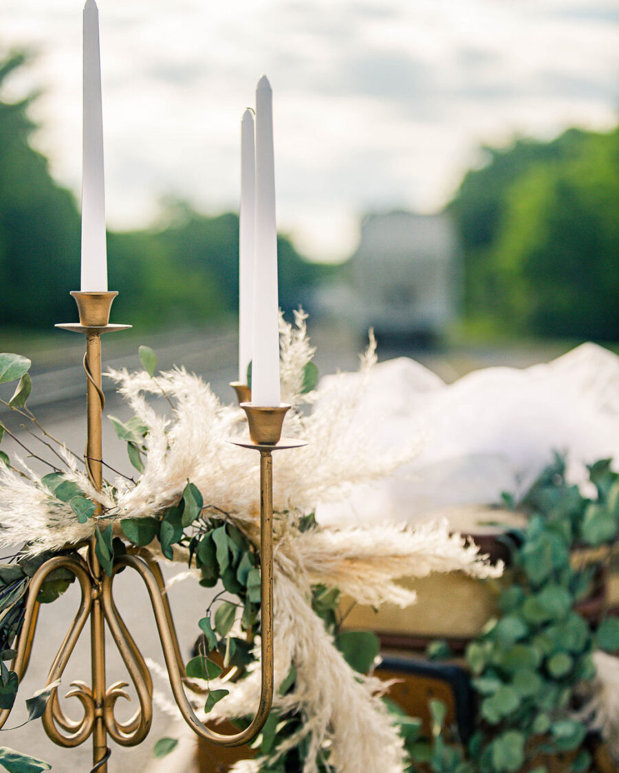 Gold wedding candelabras: Travel Inspired Photo Shoot