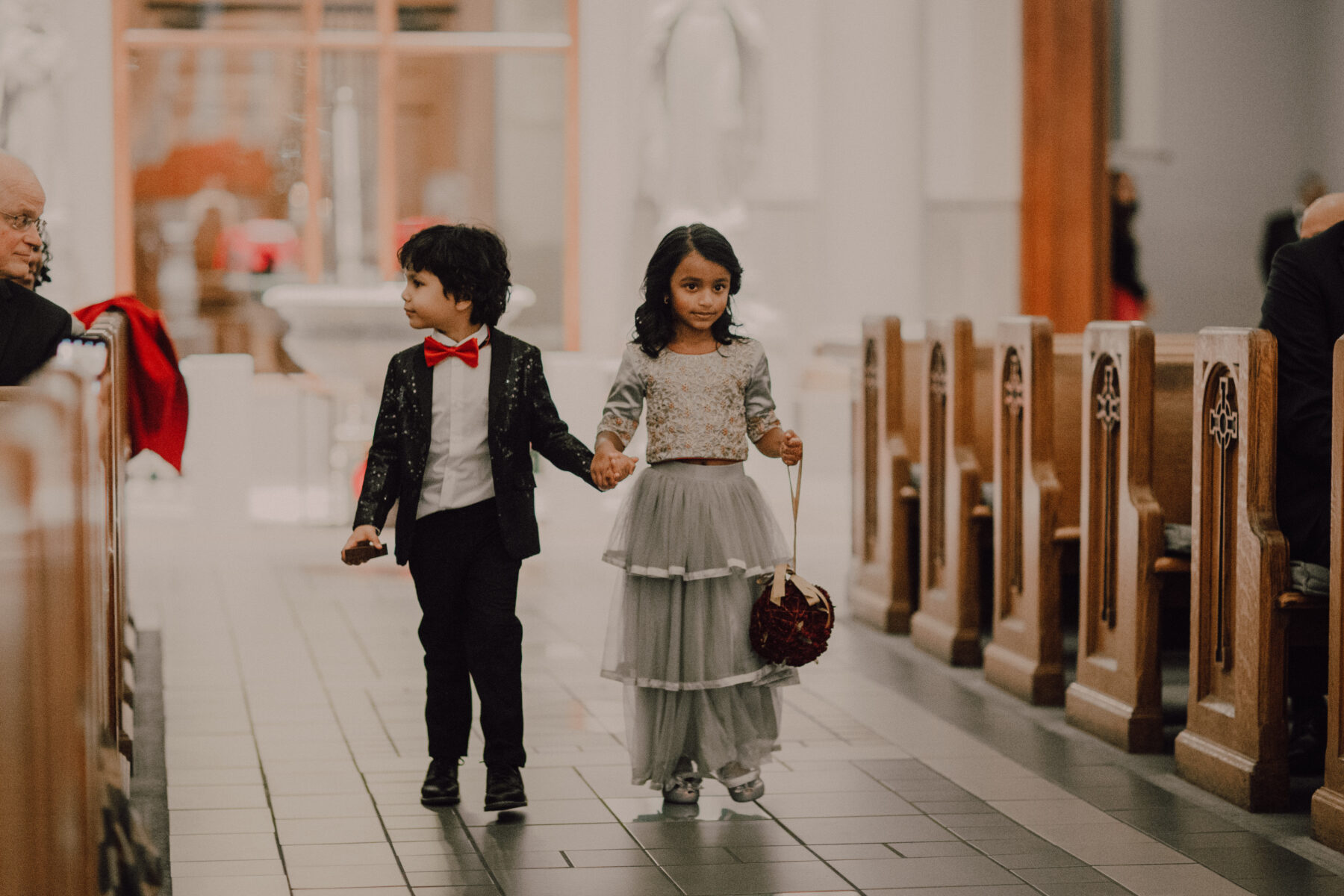Flower girl and ring bearer attire | Nashville Bride Guide