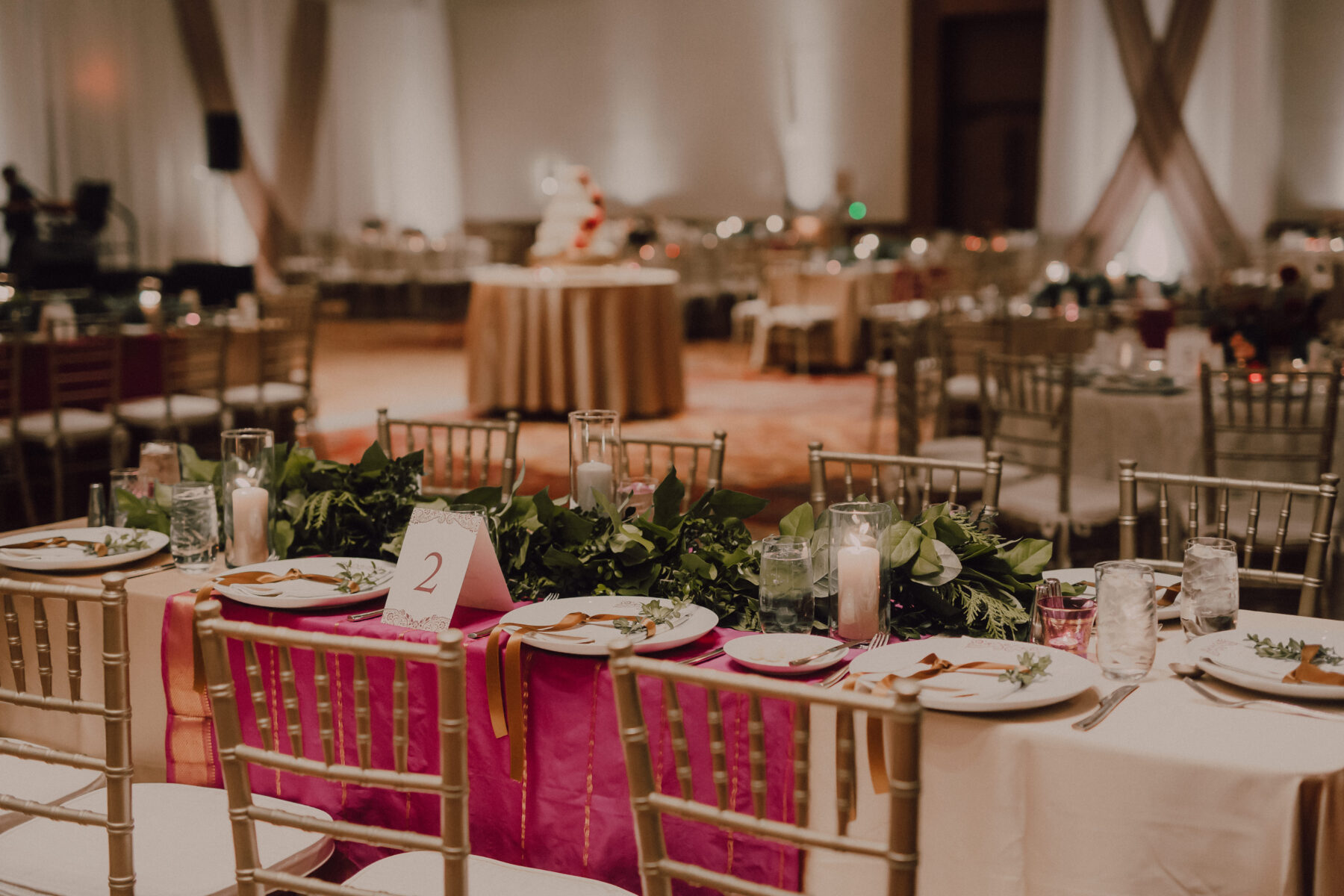 Westin Nashville winter wedding
