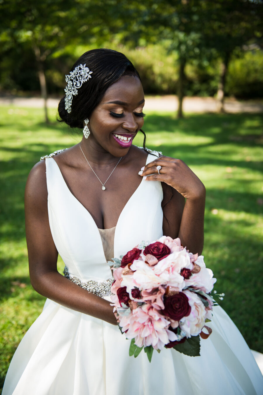 Traditional African wedding featured on Nashville Bride Guide