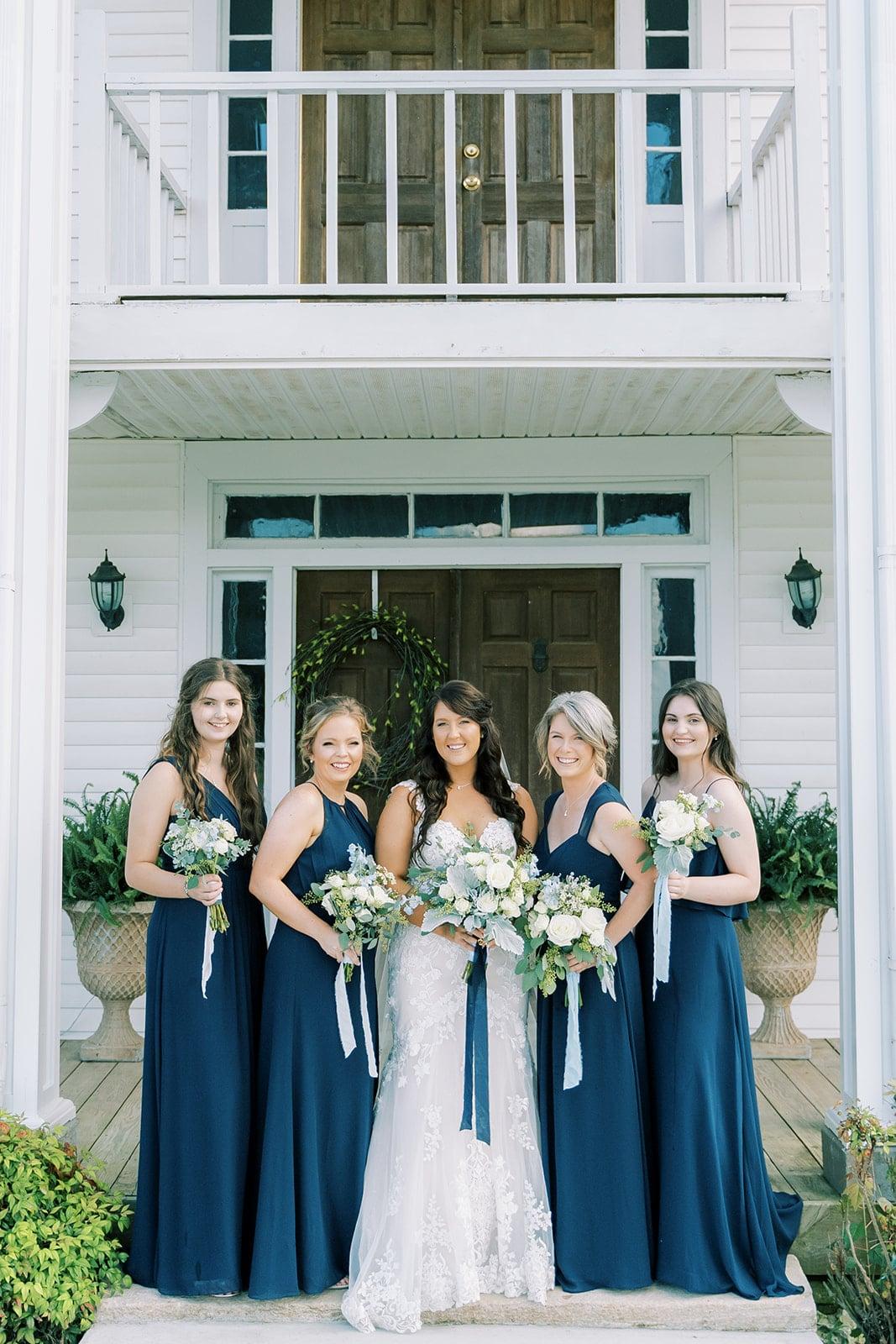 Navy blue bridesmaid dresses | Nashville Bride Guide