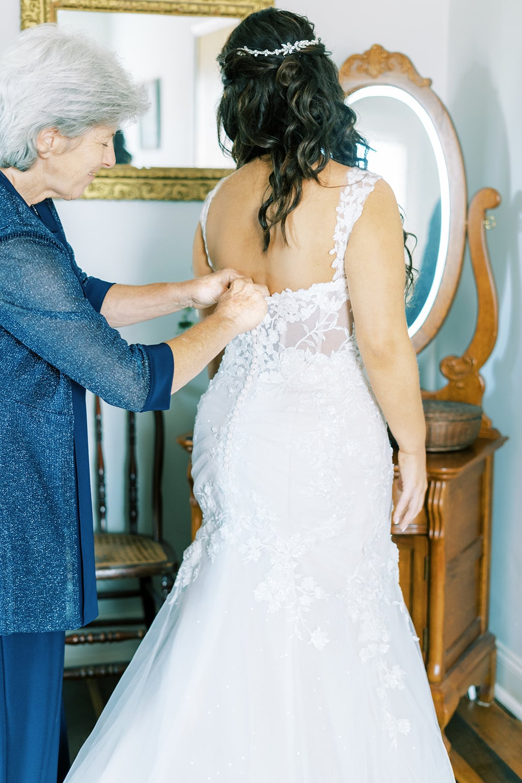 Lace fit and flare wedding dress | Nashville Bride Guide