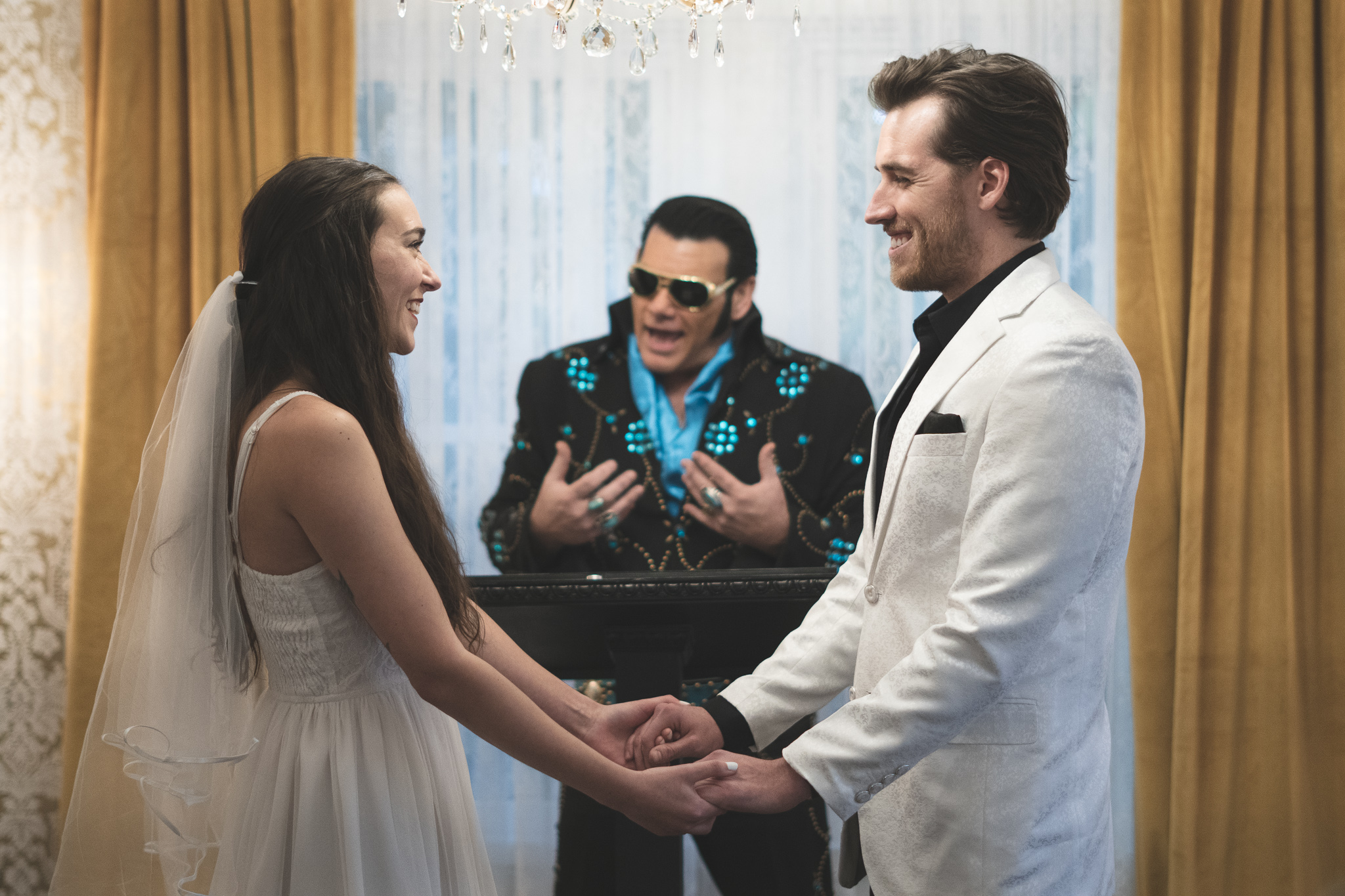 Elvis Inspired Elopement at Rhinestone Wedding Chapel | Nashville Bride Guide