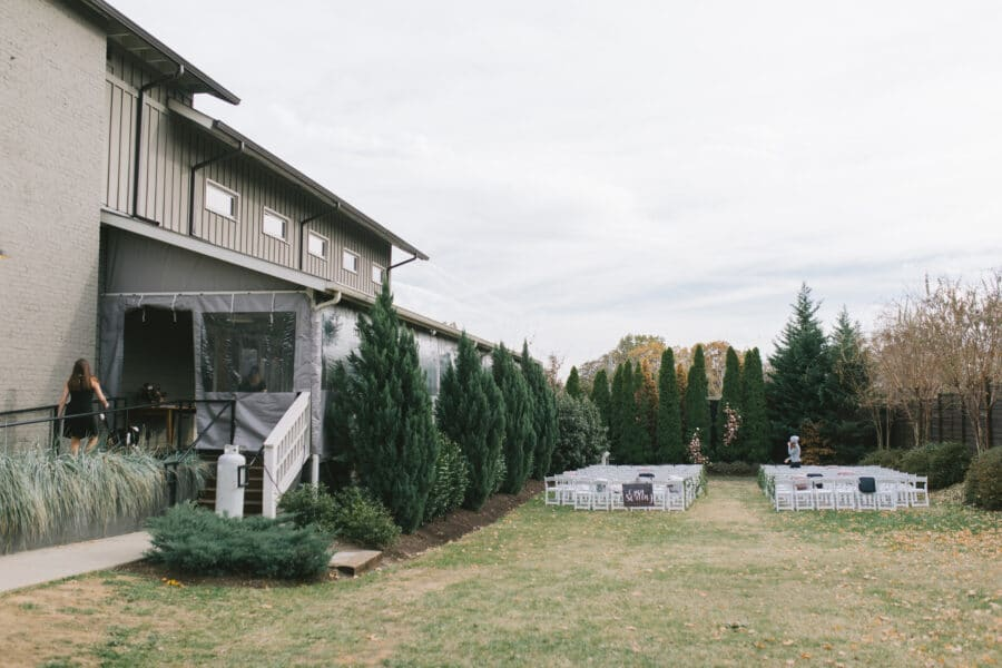 Outdoor Wedding Ceremony at The Gardens at The Cordelle | Nashville Bride Guide