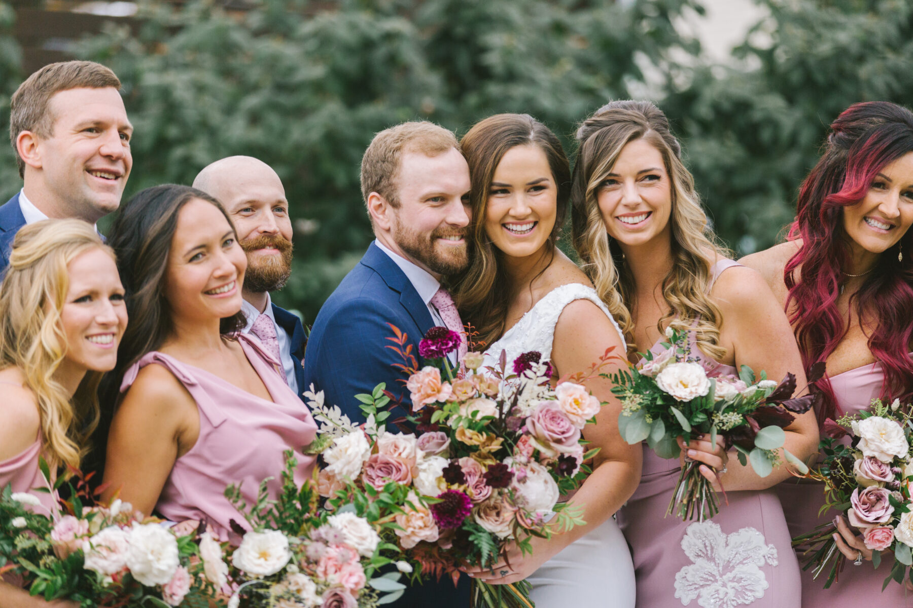 Blue and Mauve Wedding at The Cordelle | Nashville Bride Guide