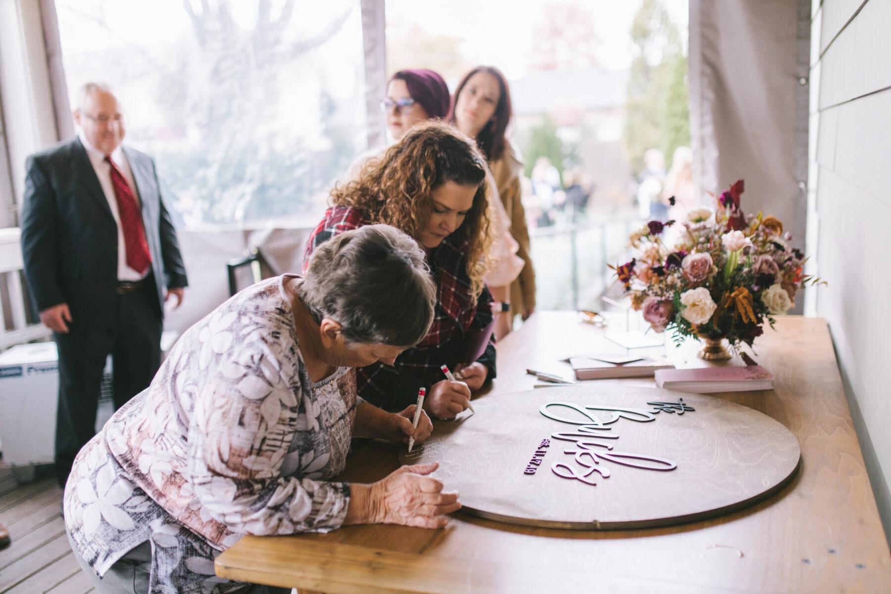 Wood Wedding Guest Book | Nashville Bride Guide