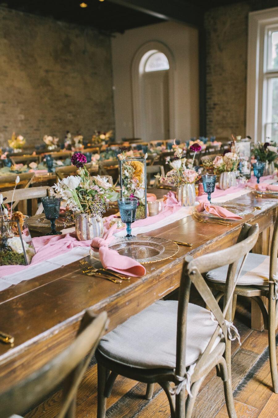 Blue and Mauve Wedding at The Cordelle | Nashville Bride Guide