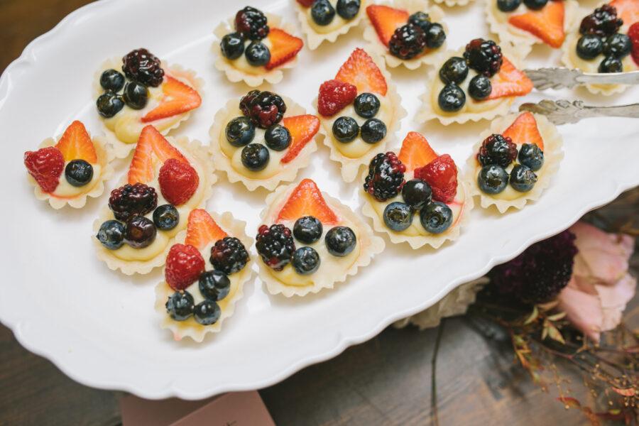 Berry Wedding Desserts | Nashville Bride Guide
