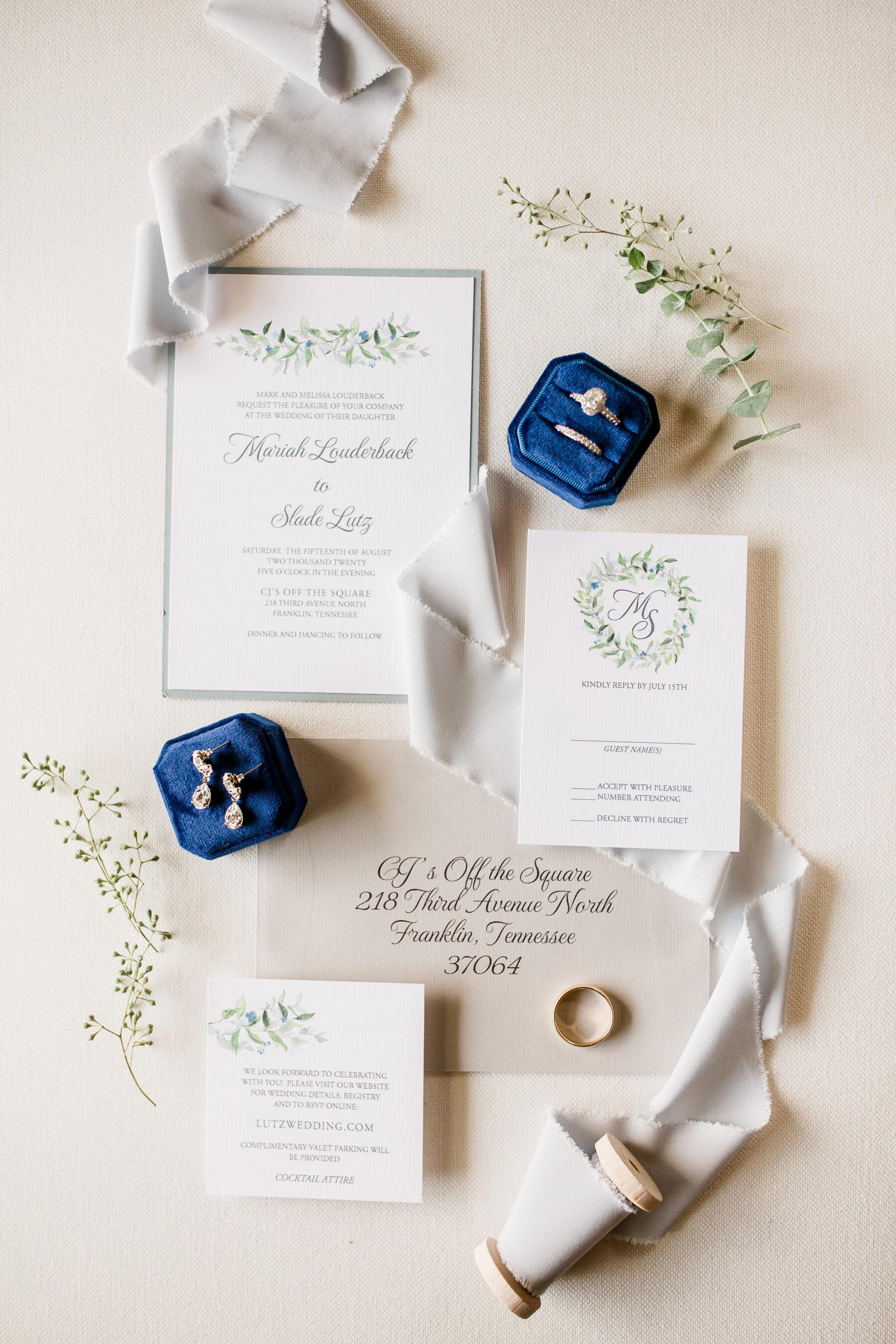 Timeless Wedding Stationery Suite | Nashville Bride Guide