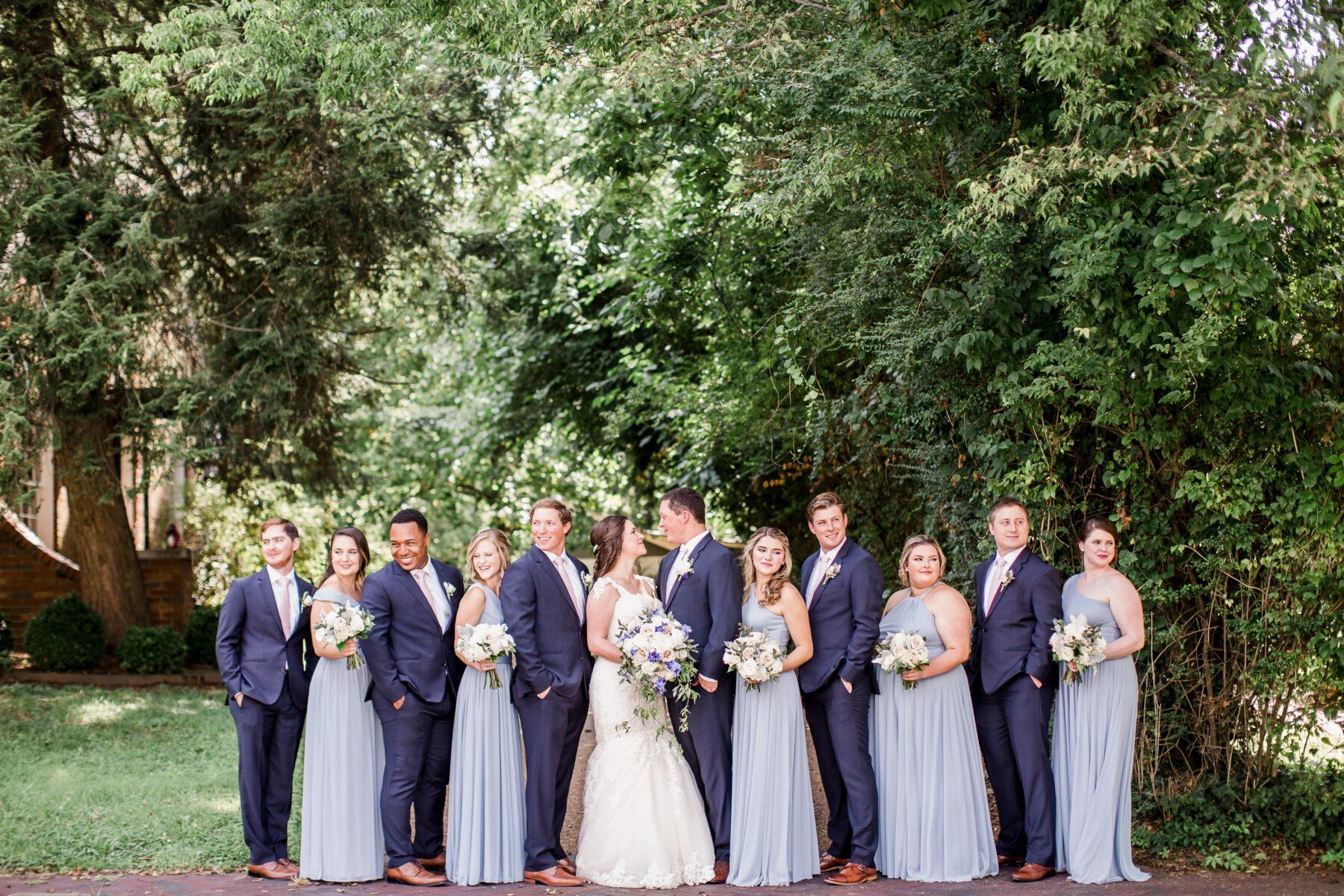 Blue wedding inspiration | Nashville Bride Guide