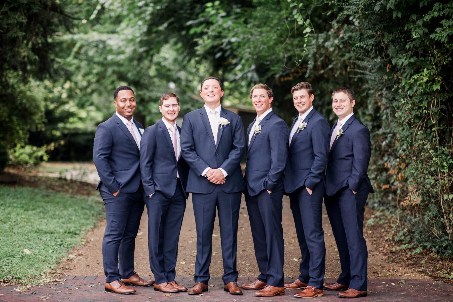 Navy wedding tuxedo from The Black Tux | Nashville Bride Guide