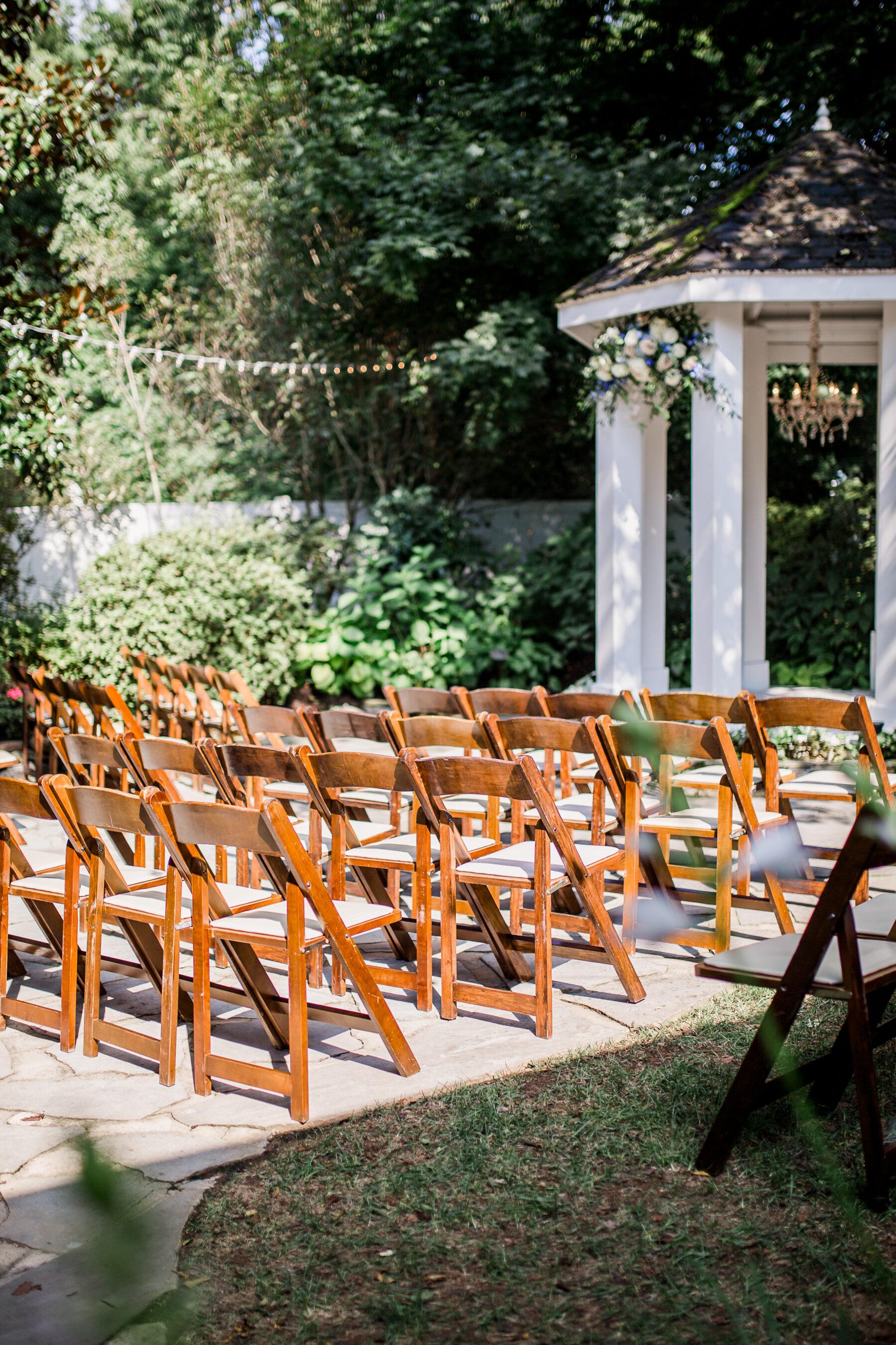Romantic Garden Wedding at CJ's Off the Square | Nashville Bride Guide