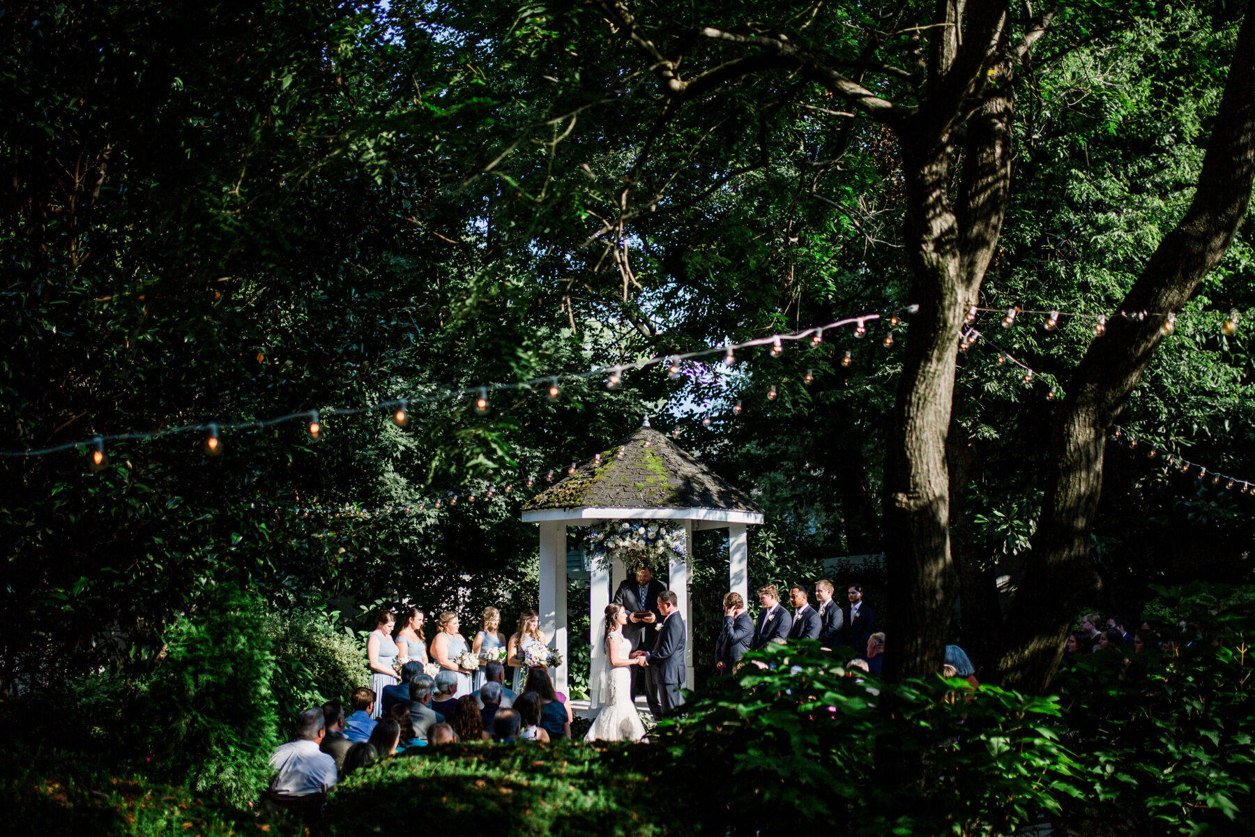 Romantic Garden Wedding at CJ's Off the Square | Nashville Bride Guide