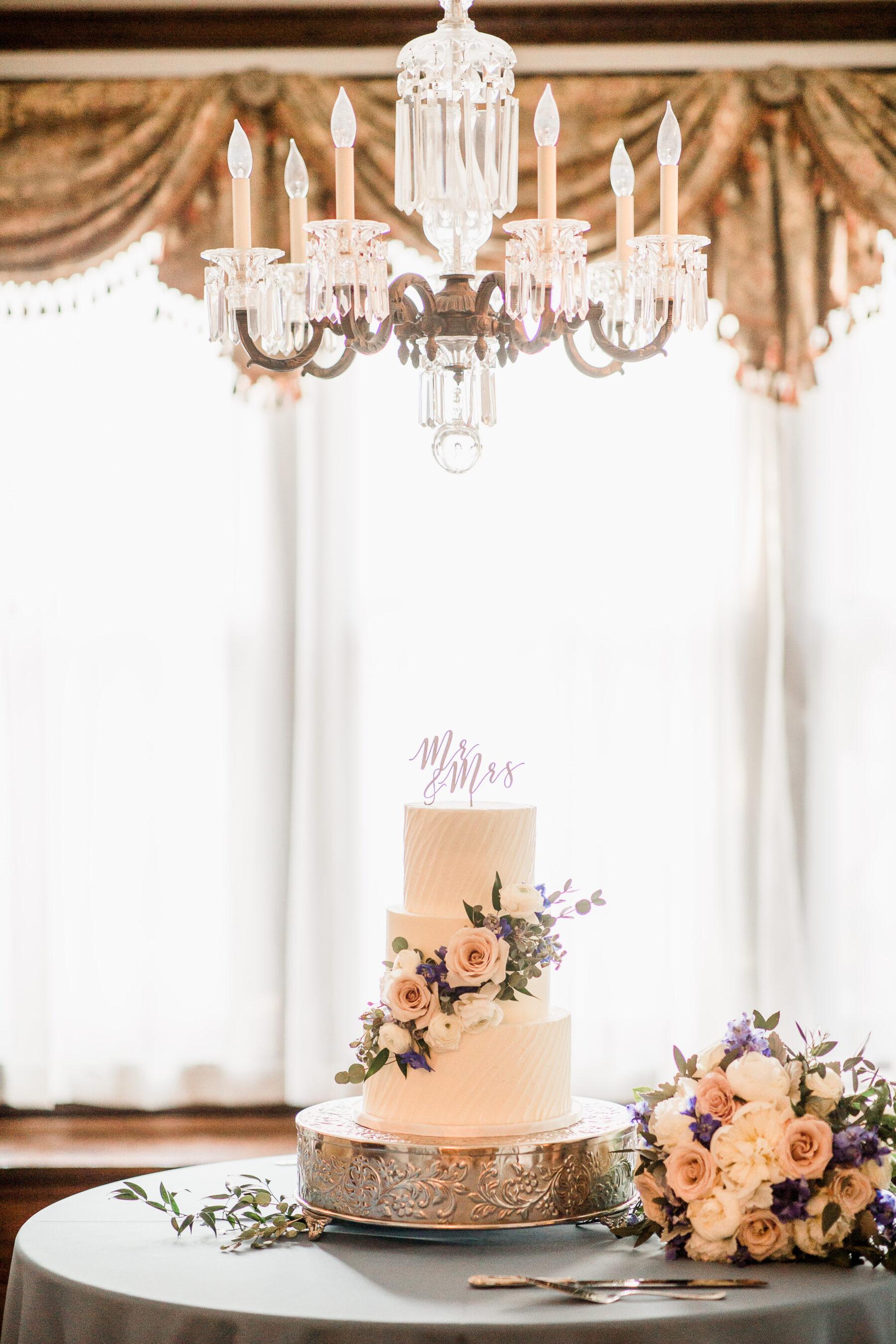 Baked in Nashville White Floral Wedding Cake | Nashville Bride Guide