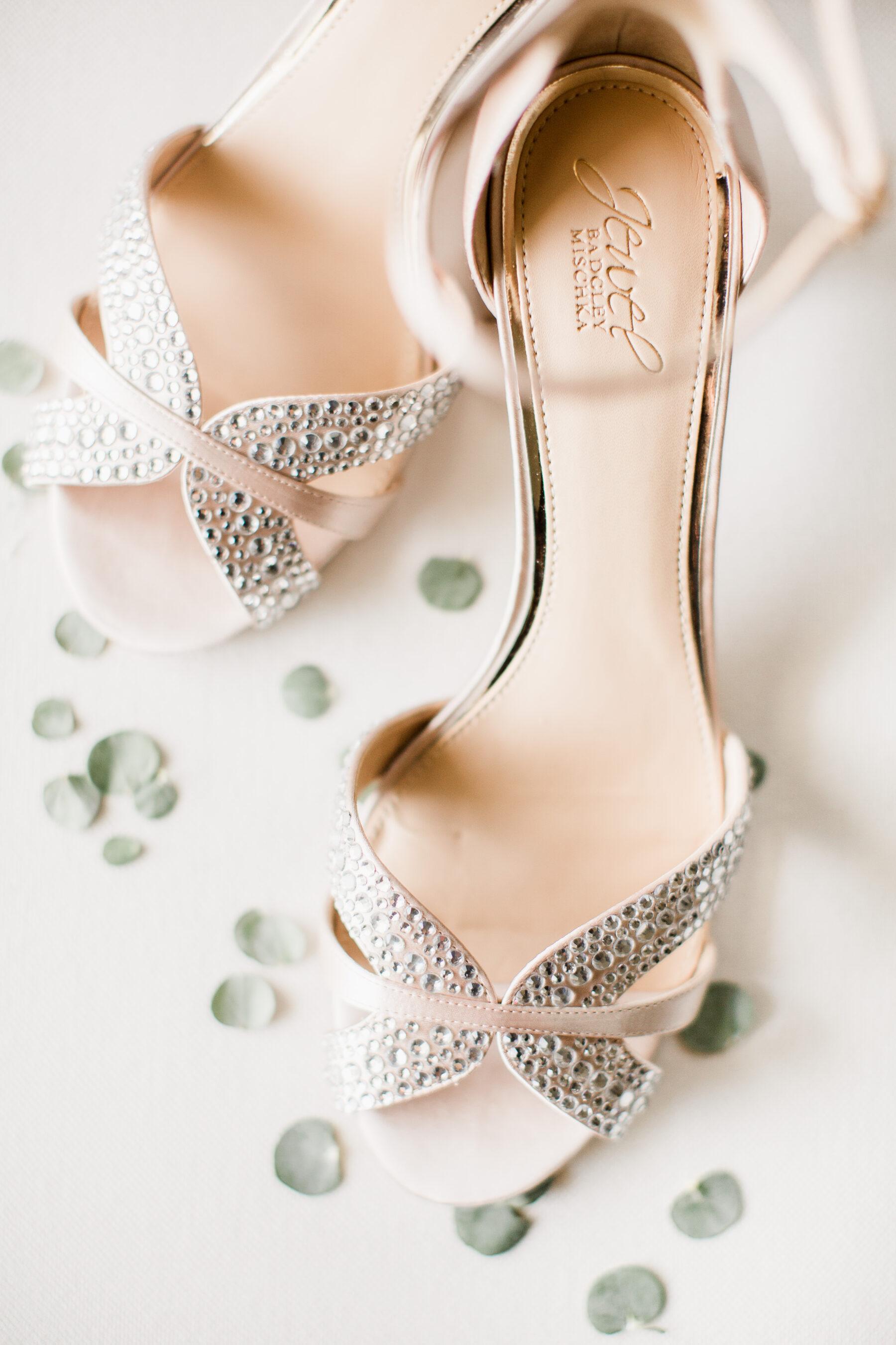Jewel Badgley Mischka wedding shoes | Nashville Bride Guide
