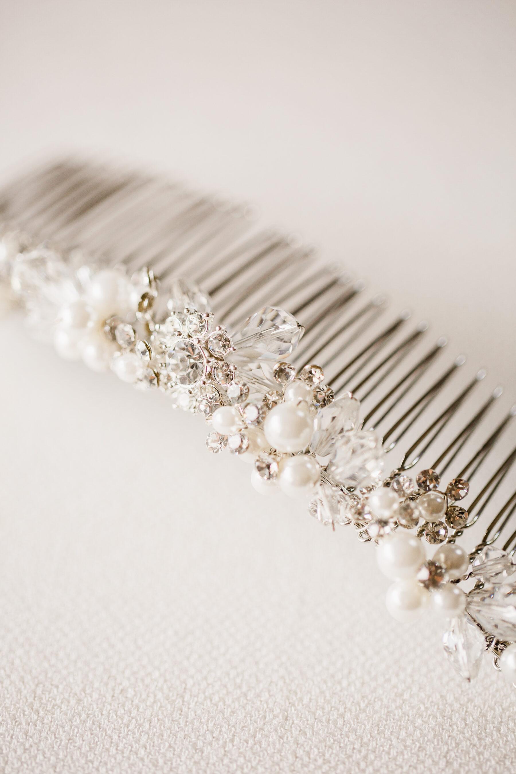Bel Aire Bridal hair accessory | Nashville Bride Guide