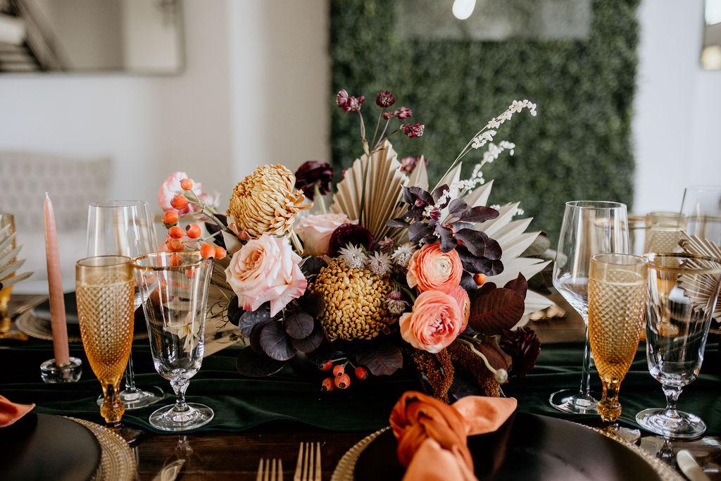 Stella Rose Floral wedding centerpieces