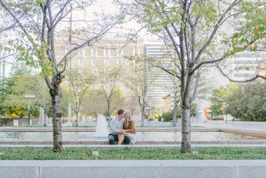 Downtown Nashville Engagement Session captured by Kera Photography | Nashville Bride Guide