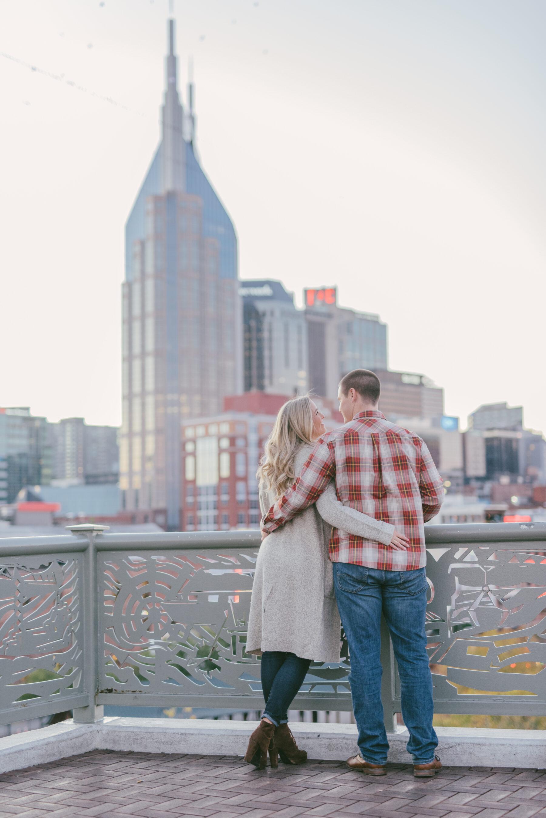 Downtown Nashville Engagement Session captured by Kera Photography   Nashville Bride Guide