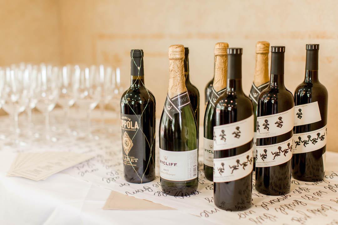 Wine display | Nashville Bride Guide