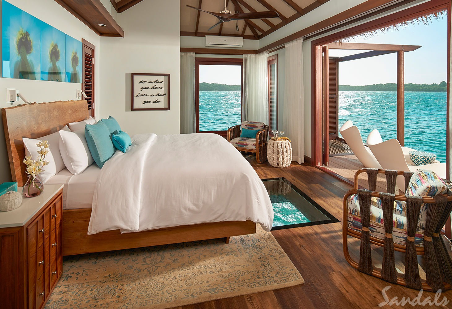 Overwater Bungalows at Sandals from 2 Travel Anywhere | Nashville Bride Guide
