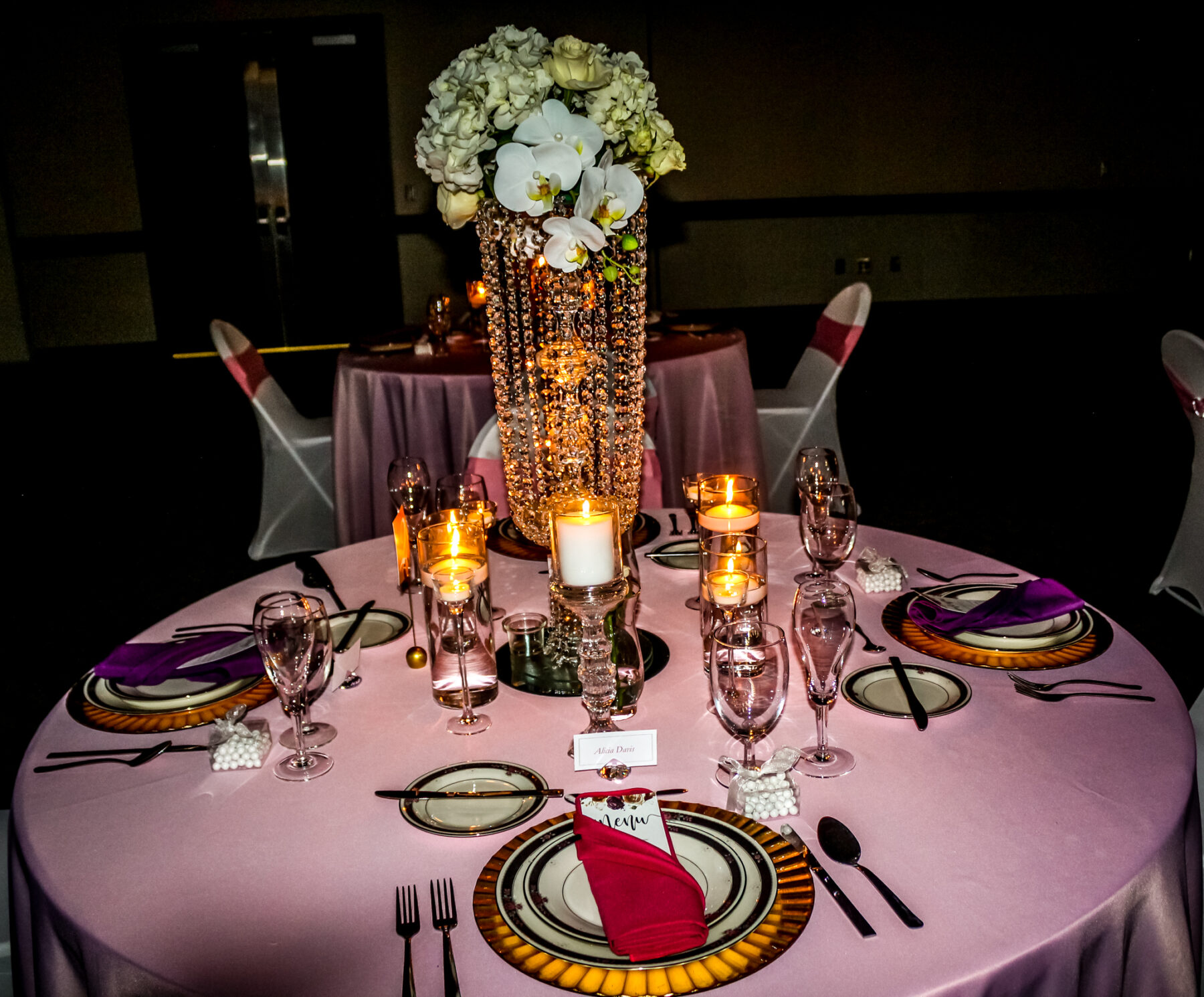 Versatile styled shoot at Farm Bureau Convention Center by My Joyful Events | Nashville Bride Guide