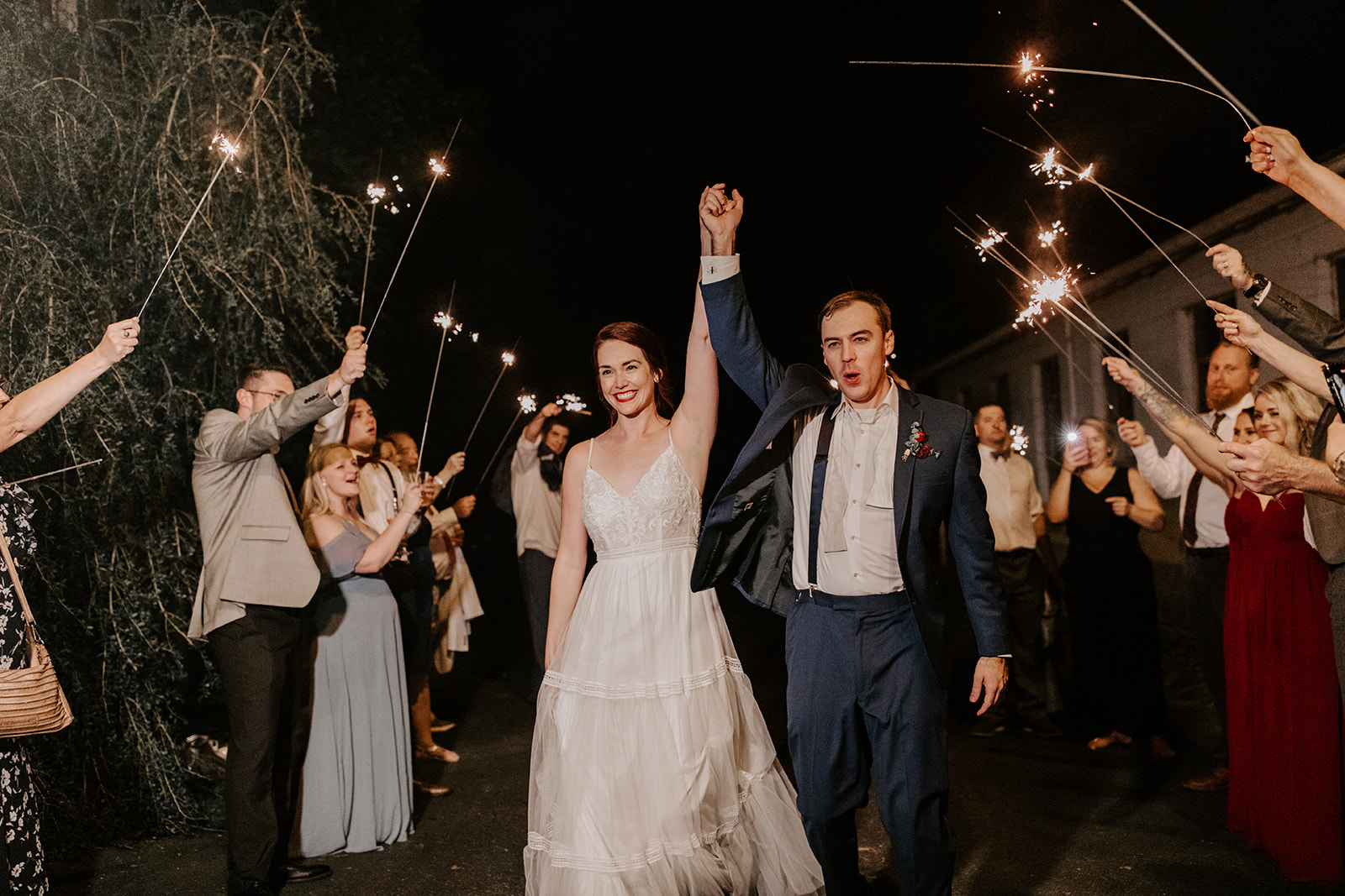 Sparkler Wedding Exit | Nashville Bride Guide