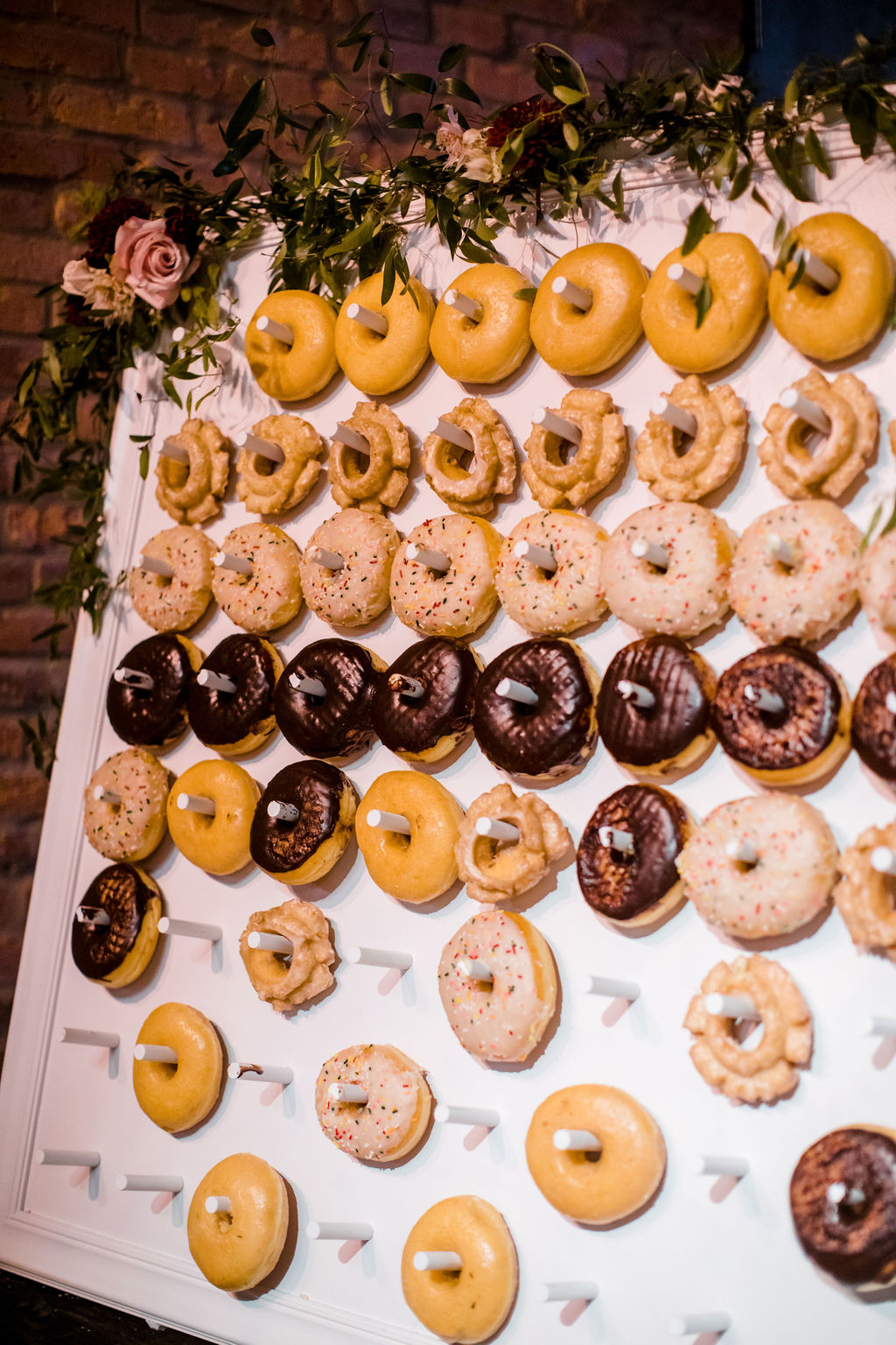 Wedding donut wall | Nashville Bride Guide