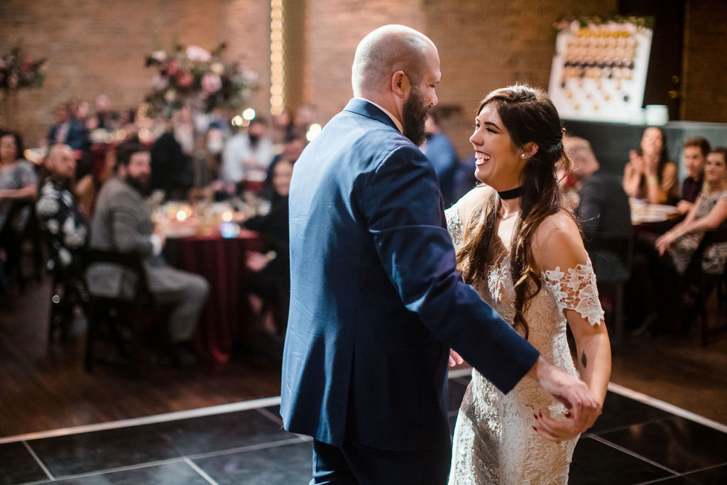 Wedding first dance at Clementine Hall | Nashville Bride Guide