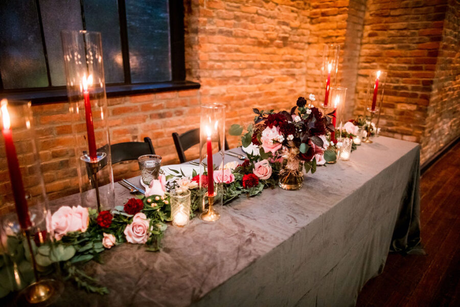 Modern and moody Clementine Hall Wedding