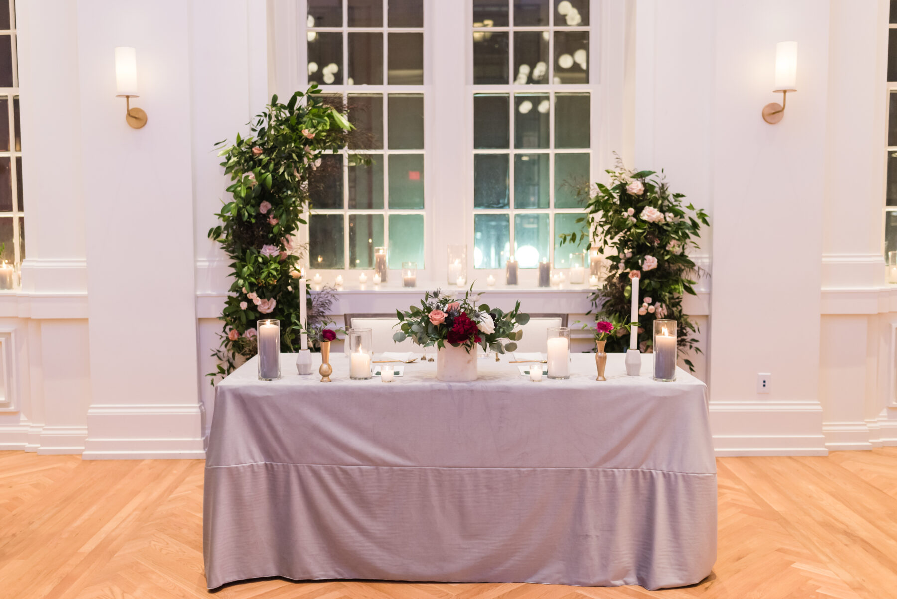 Moody Dinner Party Wedding at Noelle Nashville