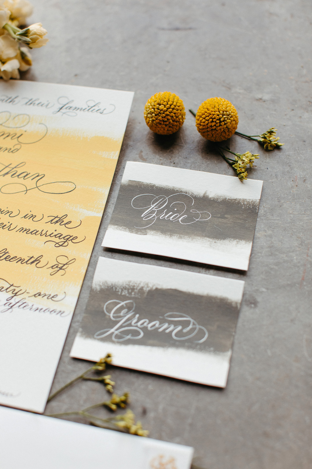 Pantone 2021 colors of the year wedding stationery | Nashville Bride Guide