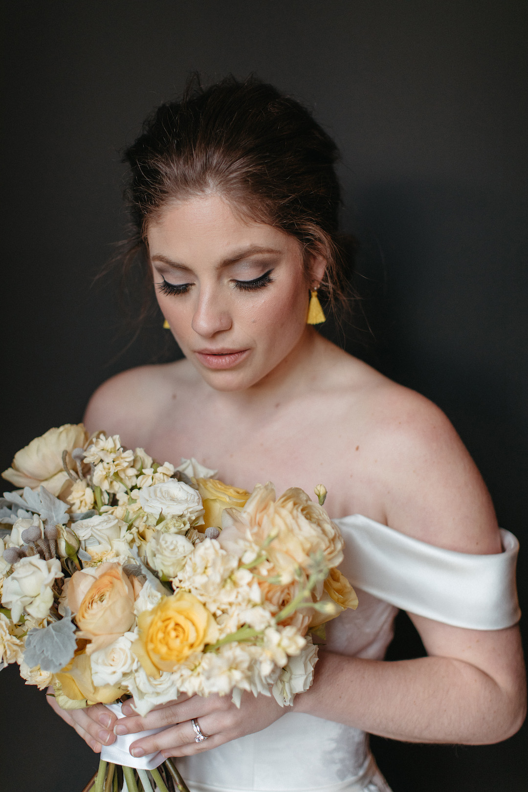 Yellow wedding bouquet | Nashville Bride Guide