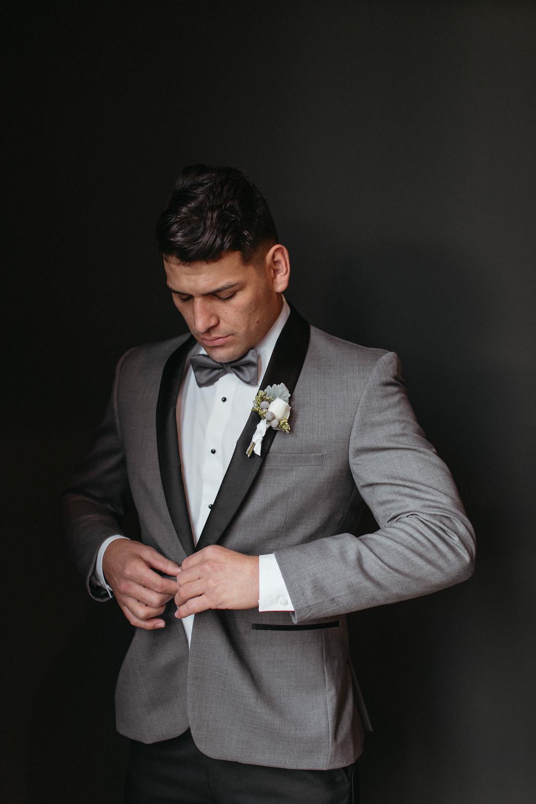 Ultimate Gray Wedding Tuxedo | Nashville Bride Guide