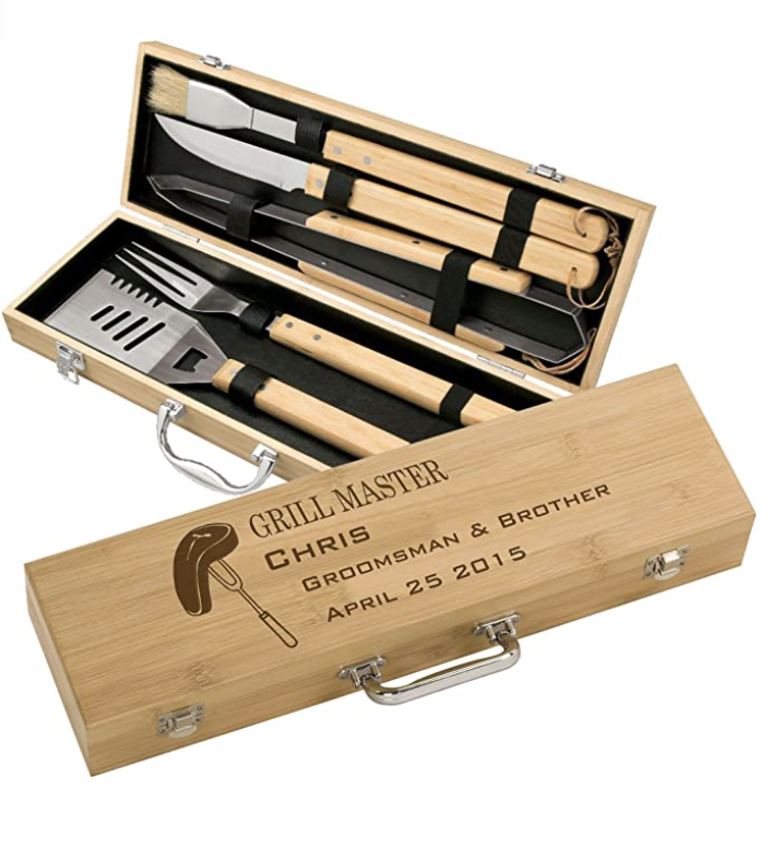 Personalized BBQ Grilling Set