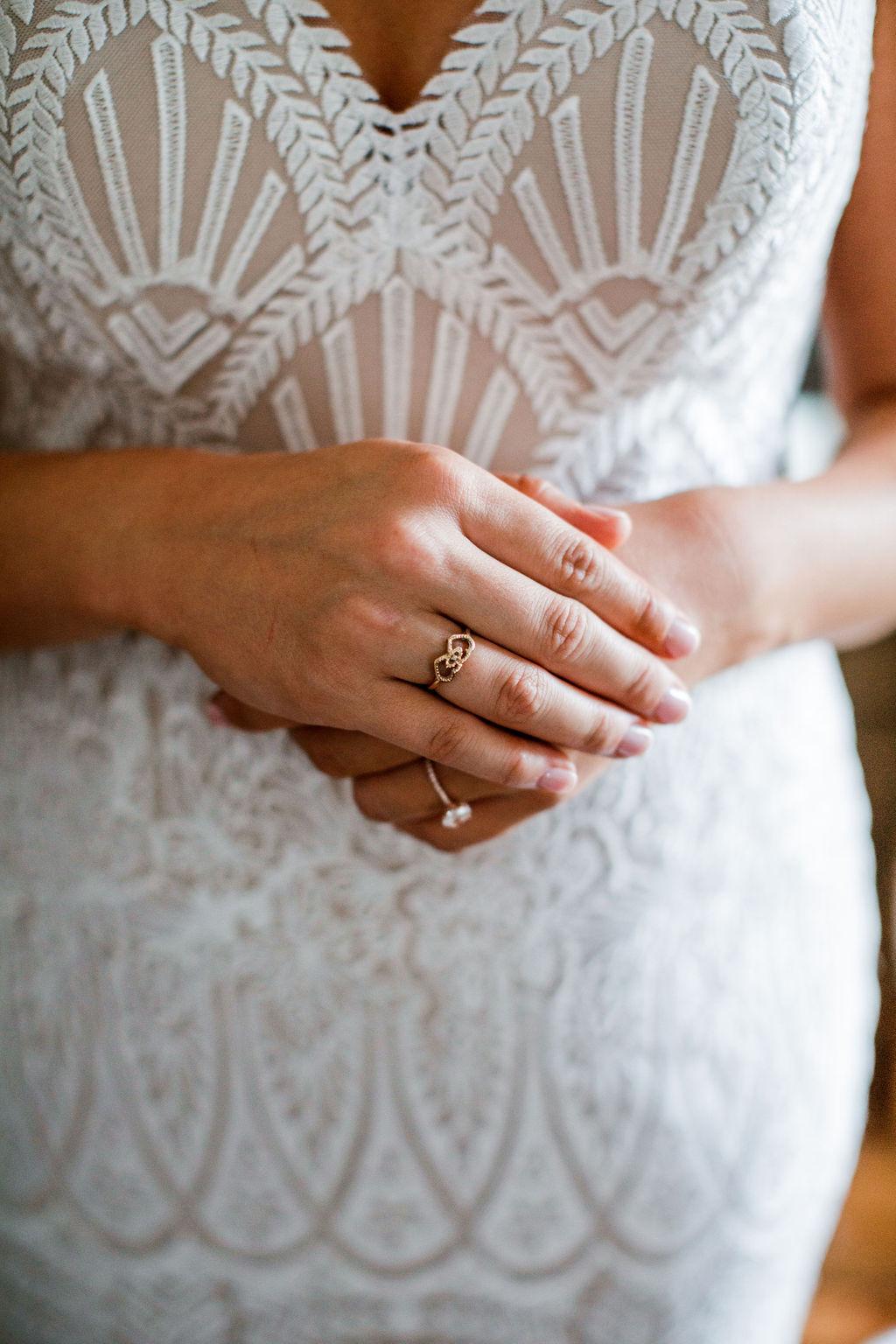 Embroidered wedding dress design | Nashville Bride Guide