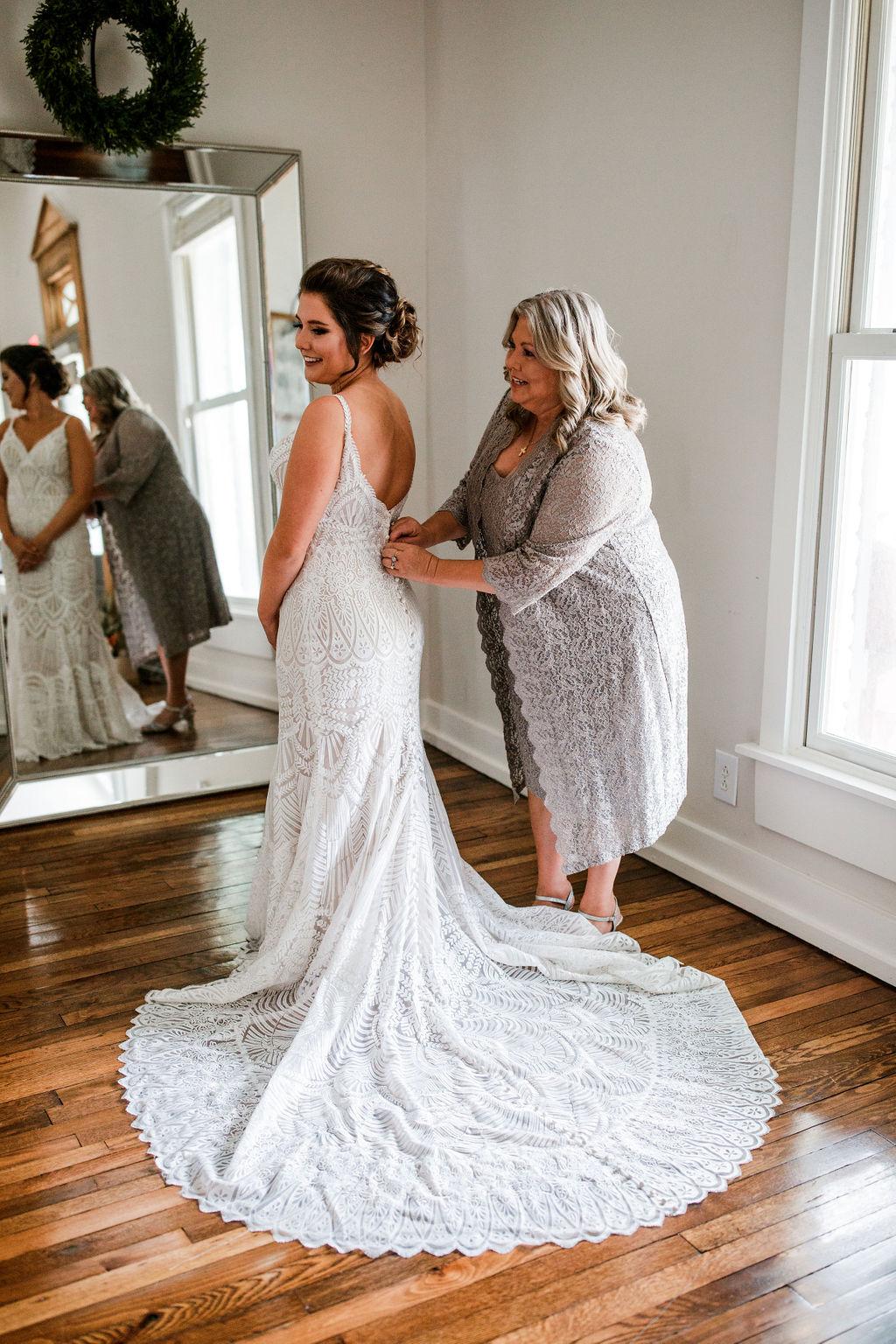 Spaghetti Strap wedding gown | Nashville Bride Guide