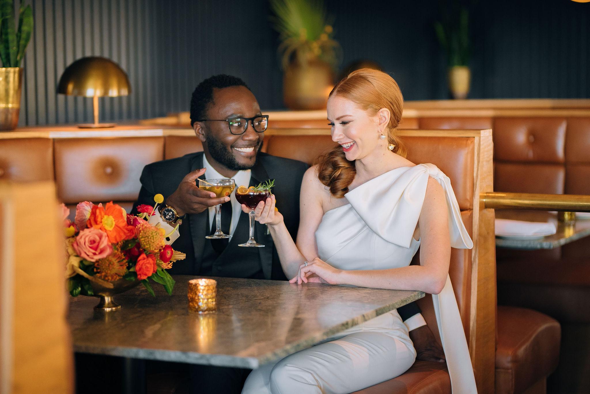 Retro Spring Styled Shoot at Fairlane Hotel   Nashville Bride Guide