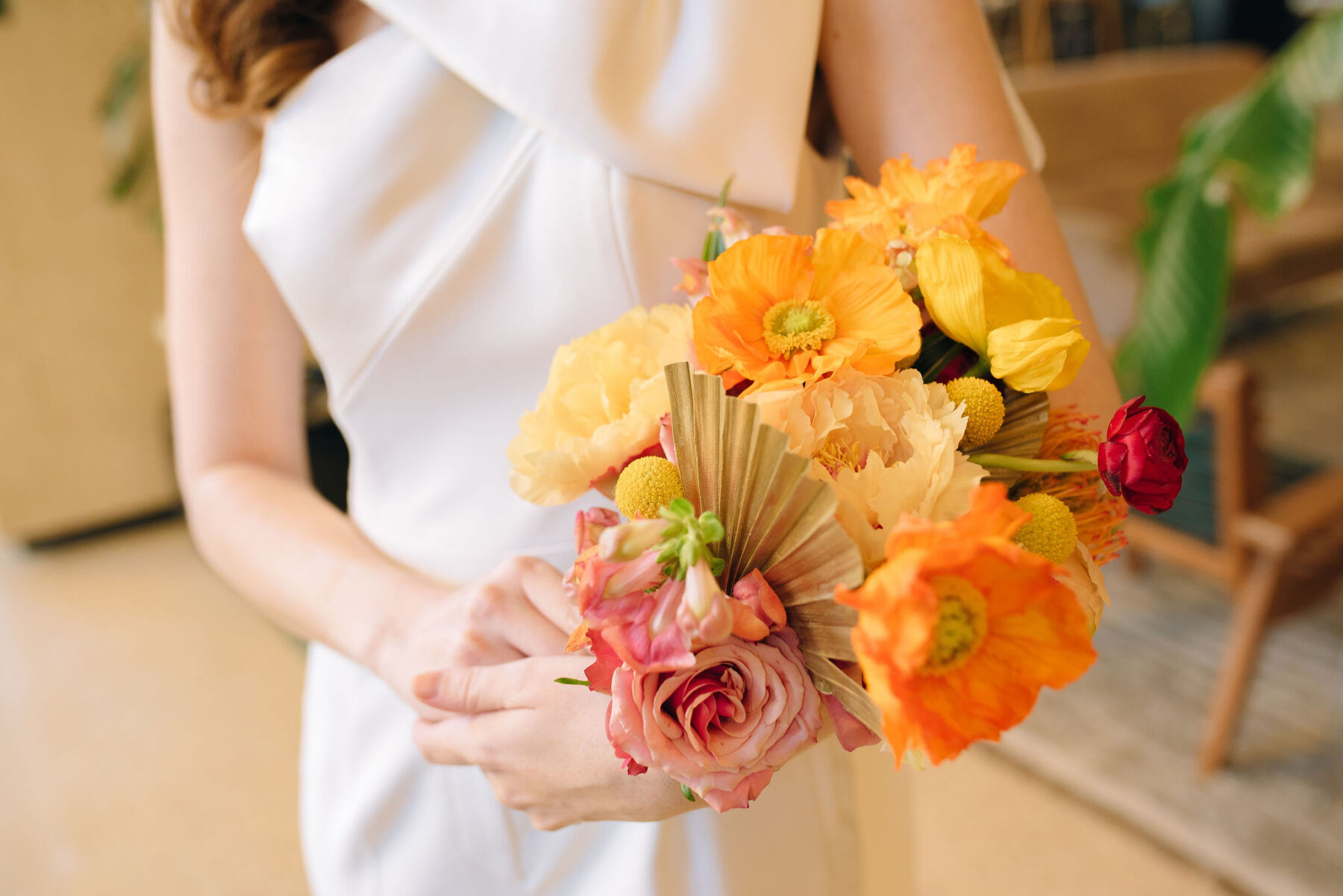 Bright spring wedding bouquet | Nashville Bride Guide