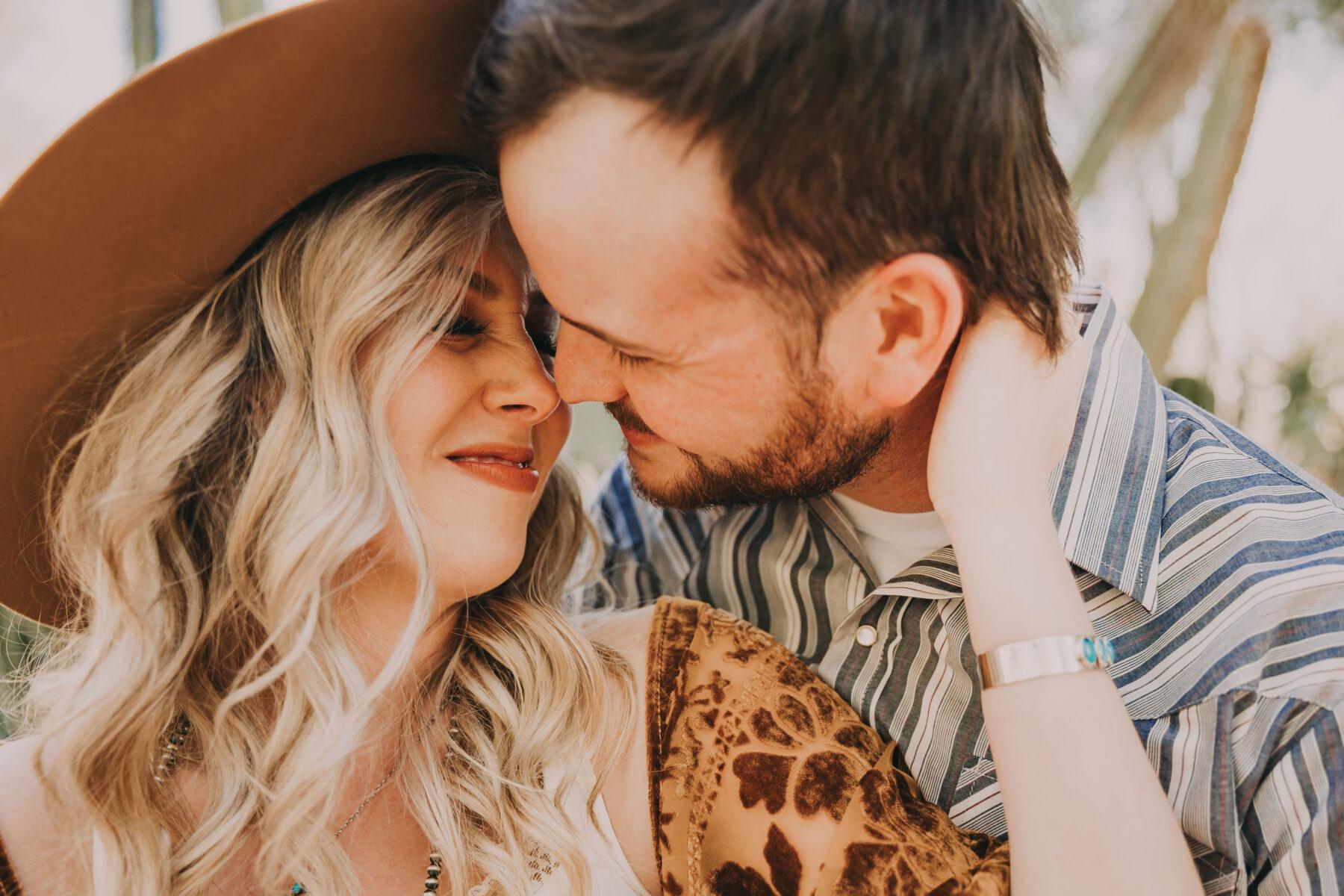Arizona Cactus Tree Engagement Session by Billie-Shaye Style | Nashville Bride Guide