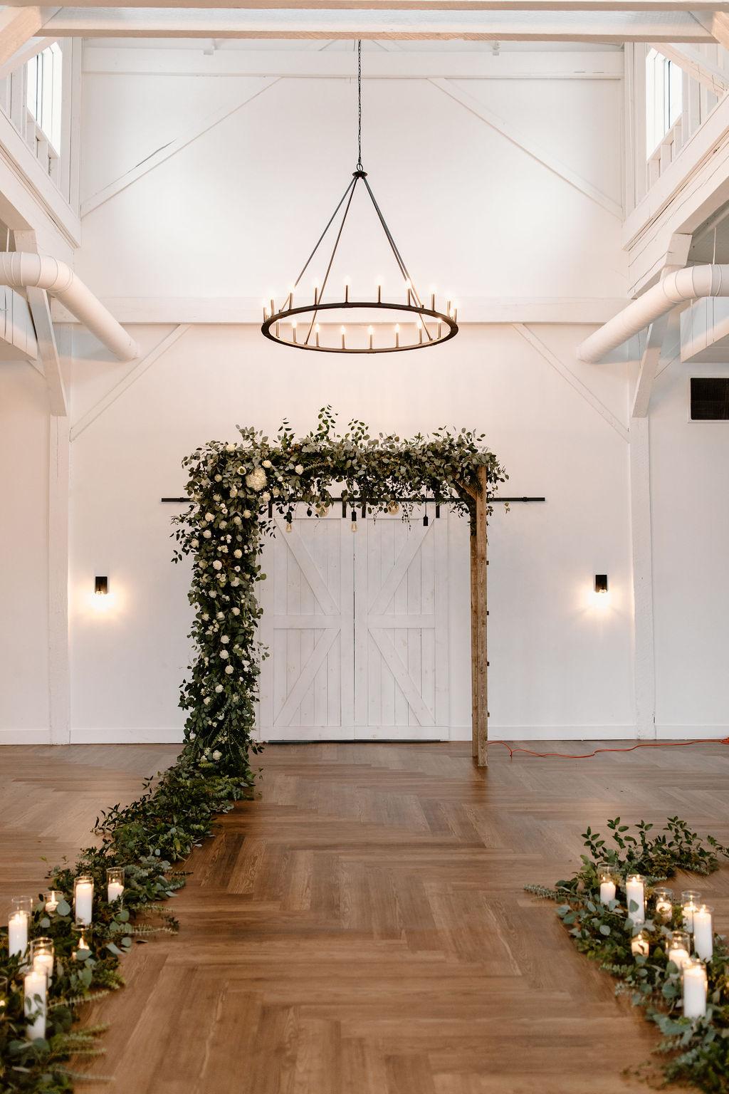 T. Villager wedding flower arch | Nashville Bride Guide