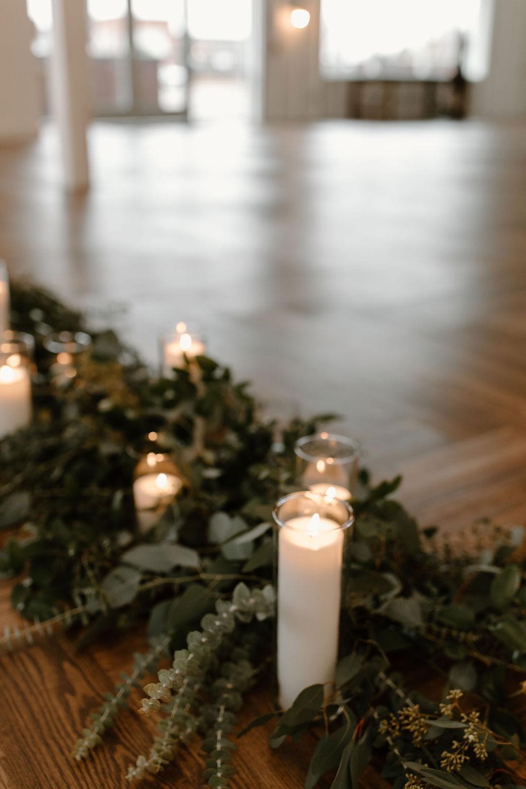Eucalyptus wedding flowers by T. Villager | Nashville Bride Guide