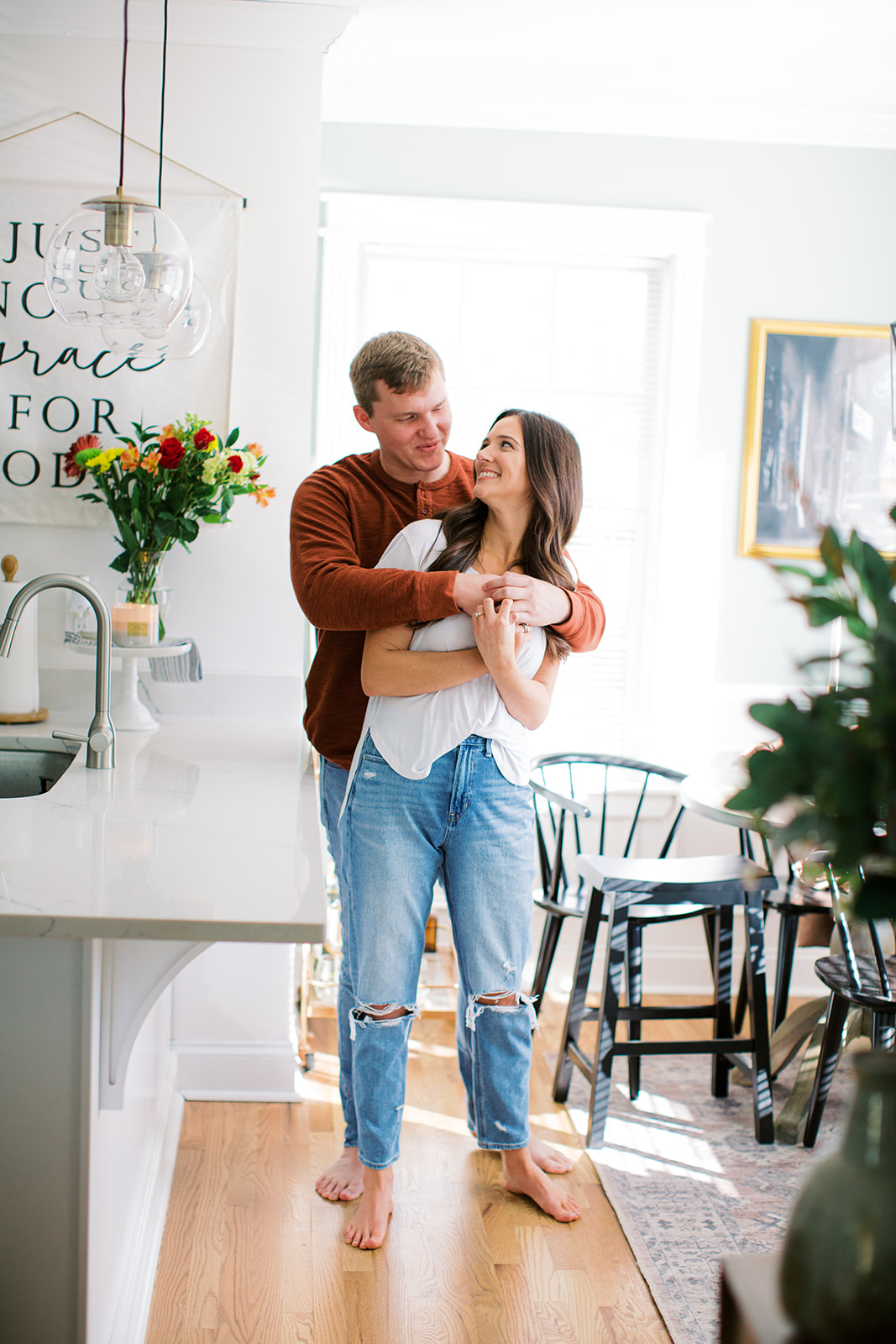 In-home Engagement Session by Ashton Brooke Photography   Nashville Bride Guide