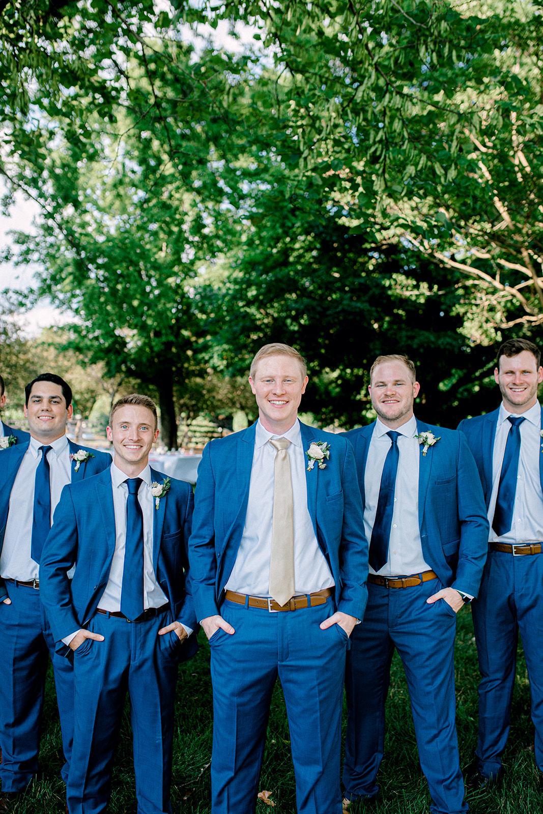 Generation Tux blue wedding tuxedos | Nashville Bride Guide